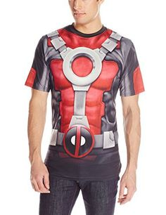 Marvel-Deadpool-Mens-Really-Pool-Sub-T-Shirt