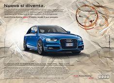 Pubblicità Audi Prima Scelta Plus: Nuova si diventa. #copywriter #audi
