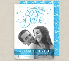 Photo Save the Date  BLAST Collection by From Lucy With Love  http://www.etsy.com/listing/164408144