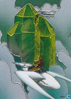 Trading cards - Moebius (collector cards) - Crystal in the Clouds