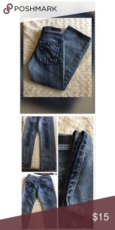 "Ring of Fire Kid Jeans (Boys) Almost new jeans worn twice. No rips or tears. My son no longer can fit them. Size 10 Straight. 23"" inseam 32"" Total length. Riding of Fire Jeans purchased at Macy's price is firm. Thank you Ring of Fire Bottoms Jeans"