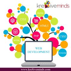 Web Development Services in India at affordable price. For more details log on to www.kre8iveminds.com