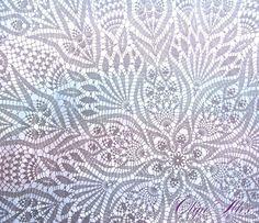 Ravelry: Lace Tablecloth pattern by Olga Gulidova Crochet Patterns Filet, Crochet Doily Diagram, Crochet Mandala Pattern, Crochet Art, Crochet Home, Thread Crochet, Filet Crochet, Crochet Doilies, Crochet Cushions