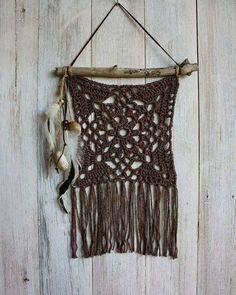 Diy Crochet Wall Hanging, Crochet Wall Art, Crochet Wall Hangings, Crochet Quilt, Filet Crochet, Crochet Doilies, Crochet Flowers, Crochet Decoration, Crochet Home Decor