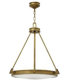 Hinkley Lighting 3384 Collier 22 Inch Large Pendant
