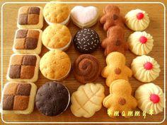 Felt Biscuit Cookies