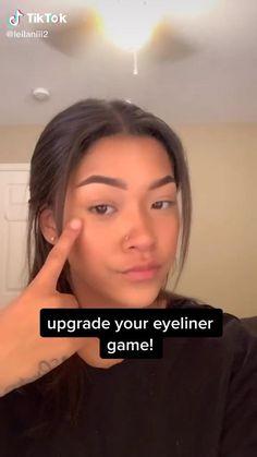 Makeup Eye Looks, Makeup For Brown Eyes, Cute Makeup, Eyebrow Makeup, Skin Makeup, Eye Makeup Art, Makeup Videos, Makeup Tips, Natural Glowy Makeup