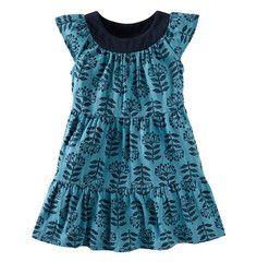 Tea Collection Protea Twirl Mini Dress