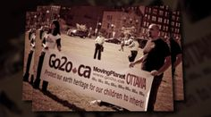 Ottawa, Canada - Sep 26, 2011 - Protect our earth heritage for our children to inherit!