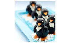 apéro pinguins (olives noires) - im so making this for Daniel! :)