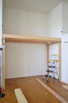 basic loft design for nook.