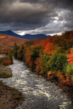 White Mountains, New Hampshire.