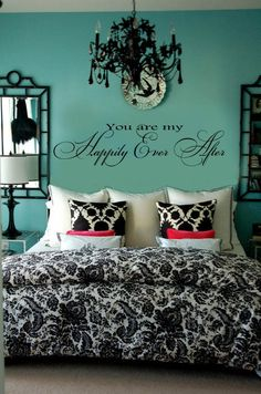 You are my Happily Ever After Vinyl Wall Lettering by wallstory