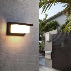 Modern LED Outdoor Light – Warmly