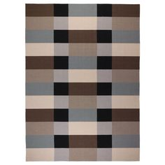 STOCKHOLM Rug, flatwoven - IKEA----- LOVE these colors for the boys rooms