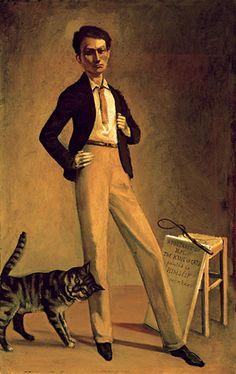 Balthus. Le roi des chats. Autoportrait 1935
