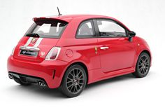 Ferrari 695 Abarth Tributo Model Car in 1:8 Scale by Amalgam