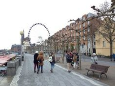 Along the Rhine in Dusseldorf, Germany. Birth place of Anne of Cleves