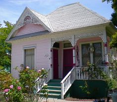 a little pink house.