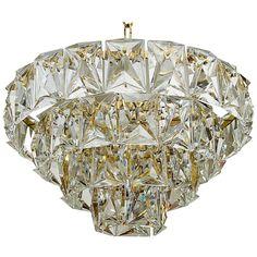 Grand Scale Gold Plate Kinkeldey Style Chandelier 1