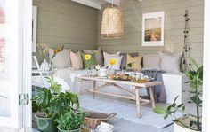 Outdoor Spaces, Outdoor Decor, Florida Home, Outdoor Gardens, Outdoor Furniture Sets, Sofa, Patio, Table, House