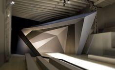 AquiliAlberg backdrop installation design for NEIL BARRETT AW 10_Photo Fabrizio Marchesi 01