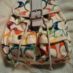 Coach backpack Multi color Coach Bags Backpacks