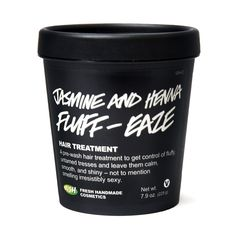 Jasmine and Henna deep conditioners from the mad geniuses at #Lush.  hanukkah is coming, and i want this BAD.