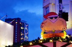 Hambourg 66 Reeperbahn Weihnachtsmarkt, Woll Lust & Leder