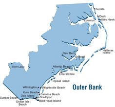 1000 Images About Beach Obx Maps On Pinterest The