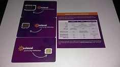 Get SIM's for new users to solavei for only .99 and when you also you  get a $20 rebate when you purchase from my ebay. Solavei what I consider the best unlimited service allowing you to pay only $49 for  unlmited calls, text and data on a 4G nationwide network no contract.   Also for those who are interested Solavei offers you the opportunity to share and earn. Every 3 people that you refer to Solavei gets you $20 per month.  #ebay #solavei #iphone #android #deals #musthave #rebate  #love