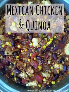 mexican chicken & quinoa 5