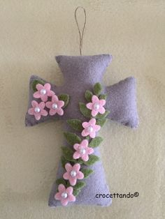croce fiorita finita