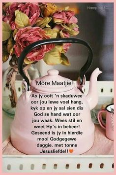 Good Morning Wishes, Good Morning Quotes, Family Qoutes, Lekker Dag, Evening Greetings, Afrikaanse Quotes, Goeie More, Color Quotes, Special Quotes