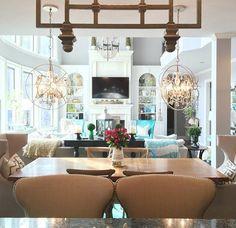 Lovely living rooms.