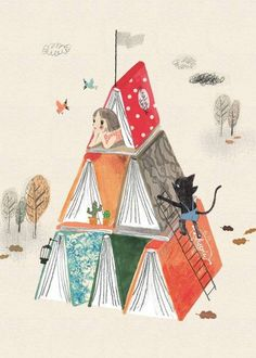 Book Fort illustration!