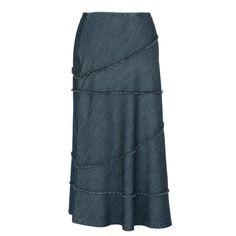 City Chic - Nostalgic Long Denim Skirt – newCreation Apparel Modest Skirts, Denim Skirts, City Chic, Every Woman, Feminine, Stylish, Women, Jean Skirts, Women's