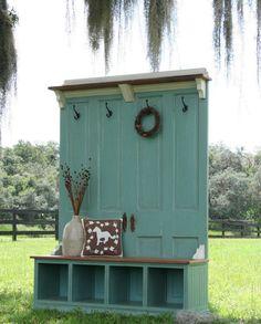 DIY Door Entry Bench - Green
