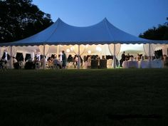 Outdoor events look great under our New Century tents.