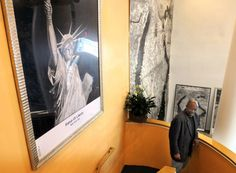 Gregory Krikko Obot has launched the Museum of Pencil Arts in NMew Haven, Conn,   (Mara Lavitt — New Haven Register)