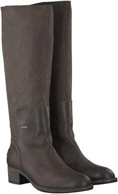 Bruine Shabbies Lange laarzen 250188