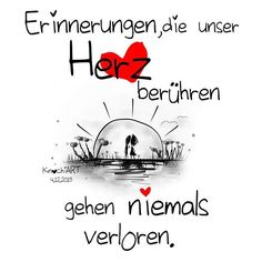 #Erinnerungen ,die unser ❤️ #Herz #berühren gehen niemals verloren. Ich mag den…