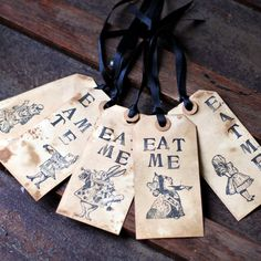 eat me drink me labels