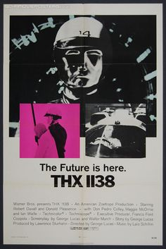 THX 1138 (1971) - Original US One Sheet Movie Poster
