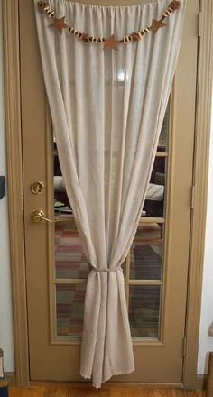 For my French doors in the breakfast room