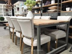 Mimi Dining Chair with Quilting - IN STOCK - Canalside Interiors