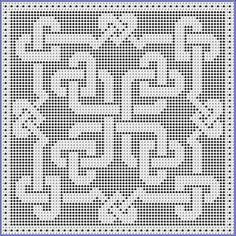 """Please note: This pattern is also available in the E-Booklet """"Celtic Knotwork Hearts Collection"""""""