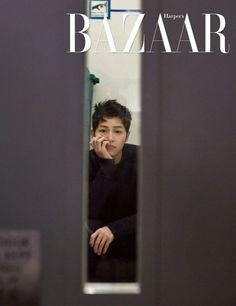 Song Joong Ki for Harper's Bazaar Korea May issue. I want to know the interview so bad. 😊 <Song Joong Ki doesn't have any social media. Be careful of fake accounts. Descendants, Song Joong Ki Photoshoot, Deep Rooted Tree, Imagine Song, Soon Joong Ki, Sun Song, Songsong Couple, Yoo Ah In, Hallyu Star