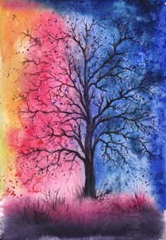 Anna Armona - Anna Armona, an artist based in Ukraine, captures the beauty of nature in an incredibly vibrant way. Focusing mainly on trees, she captures such fo...