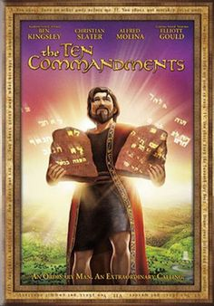 Rent The Ten Commandments starring Ben Kingsley and Christian Slater on DVD and Blu-ray. Get unlimited DVD Movies & TV Shows delivered to your door with no late fees, ever. One month free trial! Christian Cartoons, Christian Movies, Christian Music, Alfred Molina, Ben Kingsley, The Bible Movie, Christian Slater, Ten Commandments, Epic Story